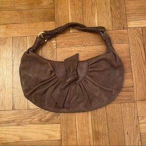 BCBG Leather Shoulder Bag